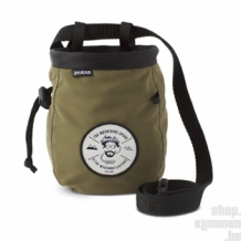 Graphic Chalk Bag with belt - Cargo Green