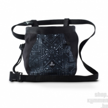 Large Women's Chalk Bag w/Belt - Black Mosaic